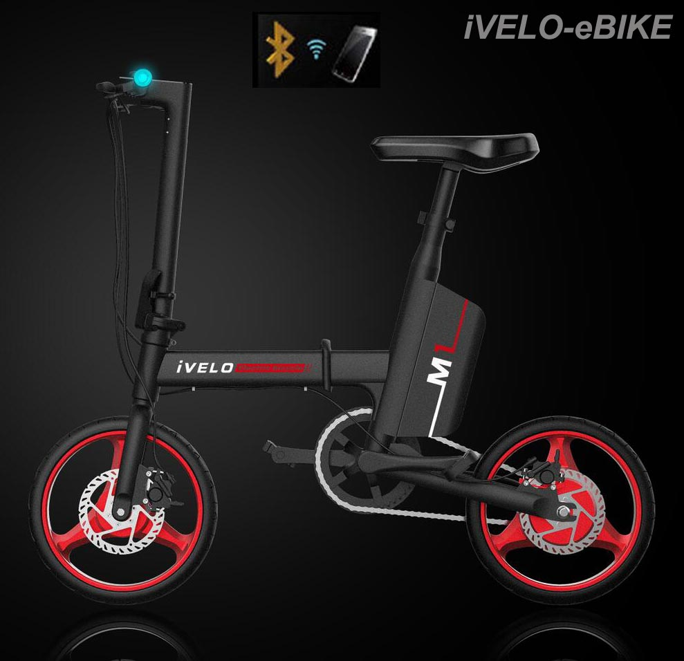 Fitrider product iVELO Electric Bicycle M1 iVELO eBIKE