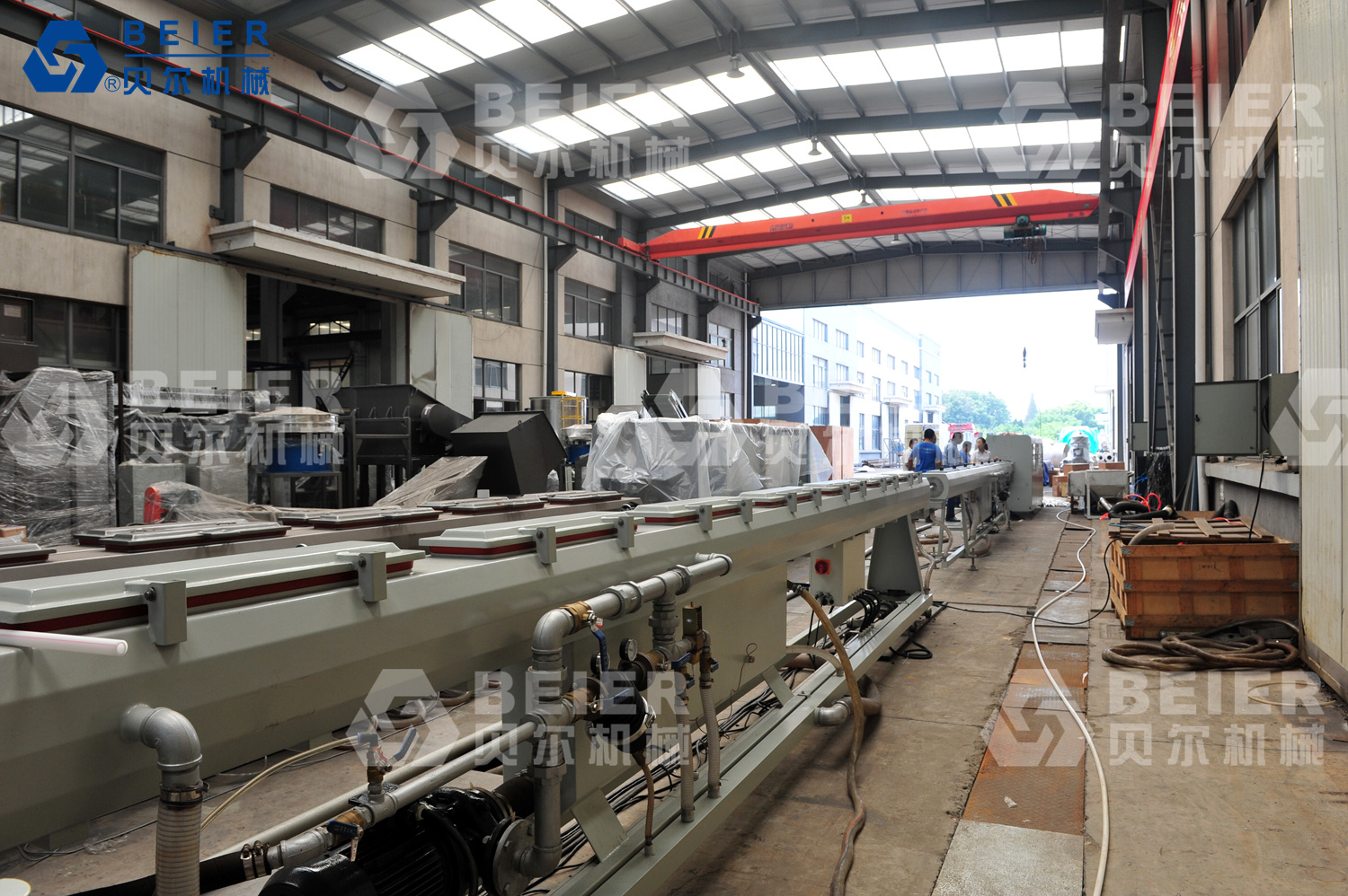PP-R Dual Pipe Production Line (Pipe Dia.: 20-63mm)