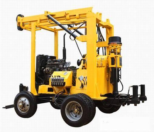 Wheeled Hydraulic Drilling Rig  LG-300T