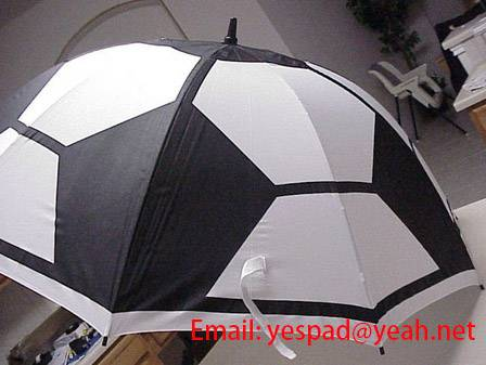 Soccer Umbrella Football Umbrella (Email: yespad@yeah.net)