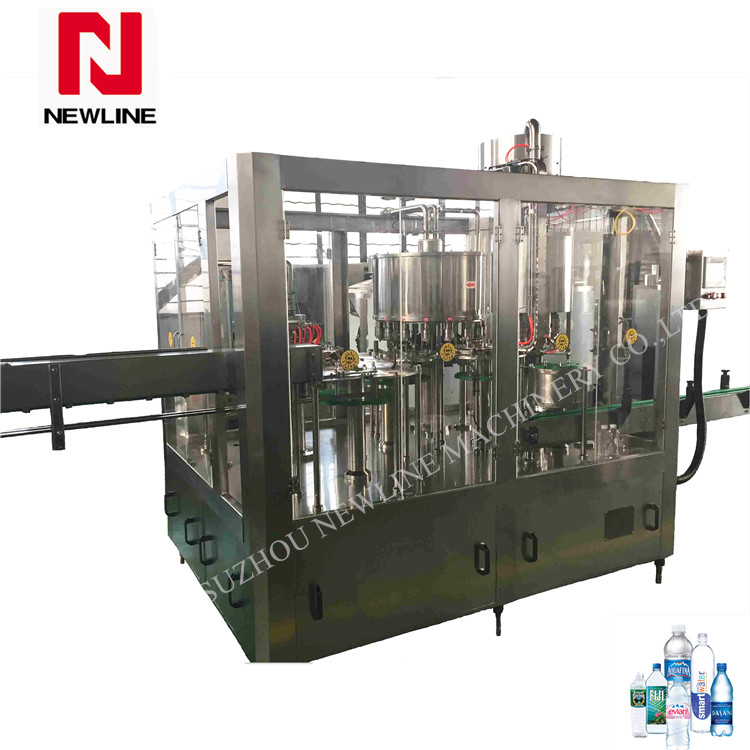 Automatic bottle water filling machine