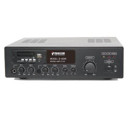 Amplifier PA system S-30M/60M