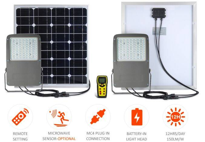 solar flood led light