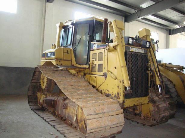 Used Caterpillar Bulldozer D6R LGP bulldozer year 2003 used 8100 hours