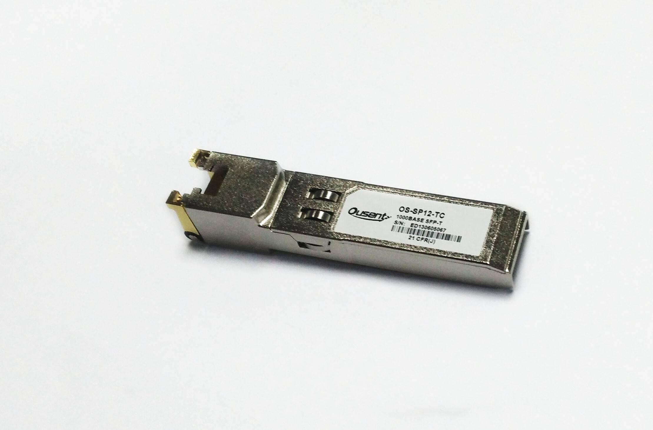 1.25G Copper SFP transceiver
