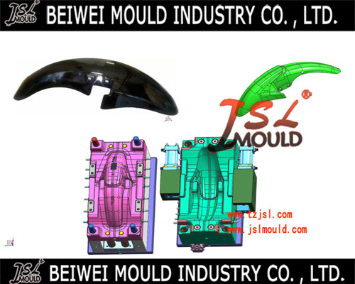 Premium Customized Plastic Motorcycle Mudguard Mould