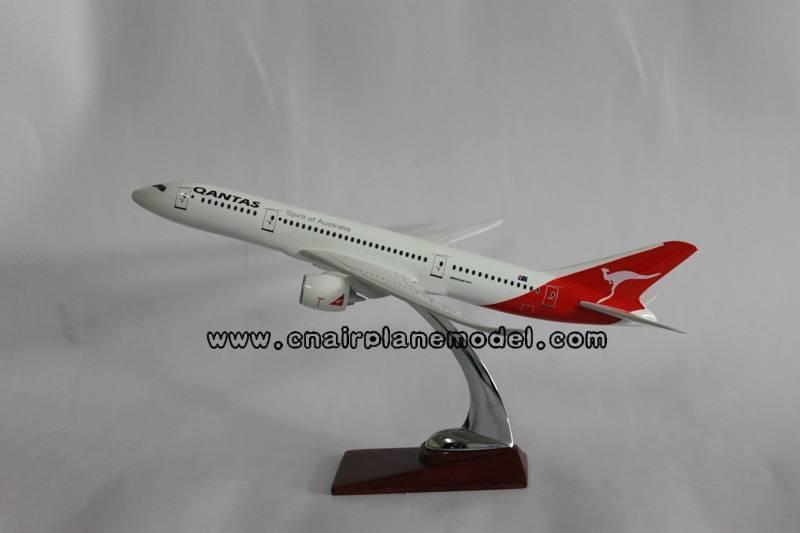 resin model aircraft B787 Qantas Airways 36cm