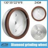 full rim sintering resin bond glass edging wheel for glass straighline edging machine
