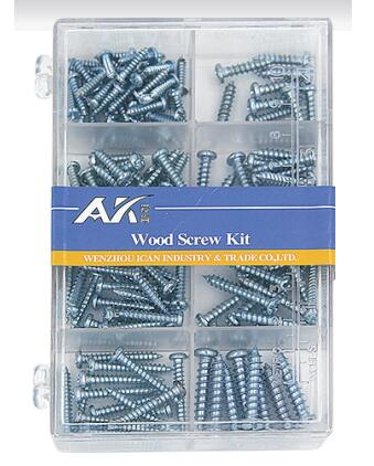 PS Box Packing Self Tapping Screw Assortment