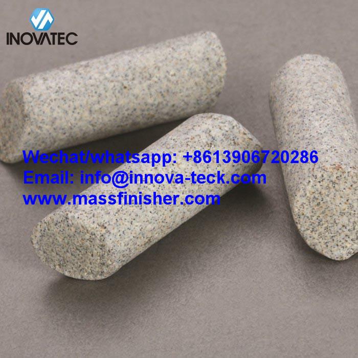 Ceramic deburring media - RMB/D1 polishing abrasive