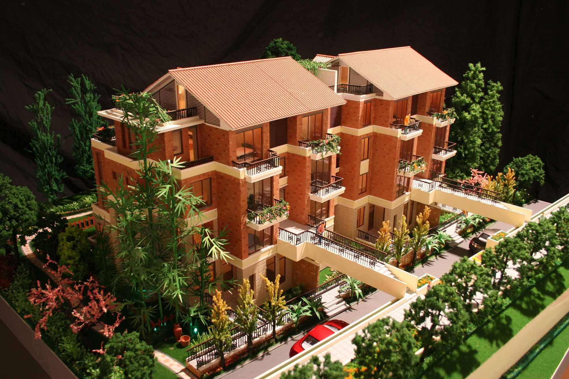 architectural villa model builder