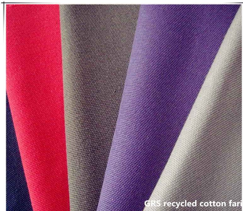 High - Quality Ecological Grs Recycled Cotton Fabric Heavy - Duty Duck