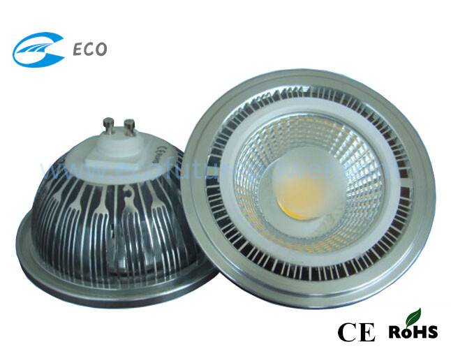 7W ar111 Ce COB LED ceiling light for residential