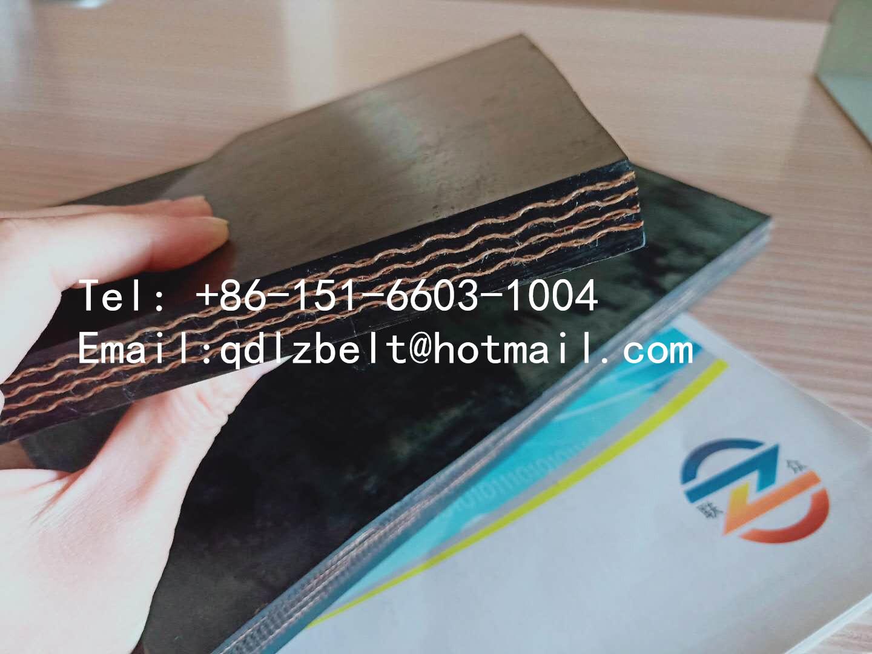 abrasion resistant EP conveyor belt