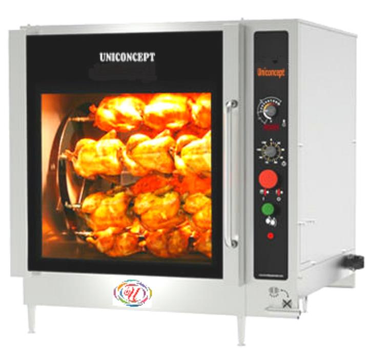 Electric Rotisserie Chicken Grill