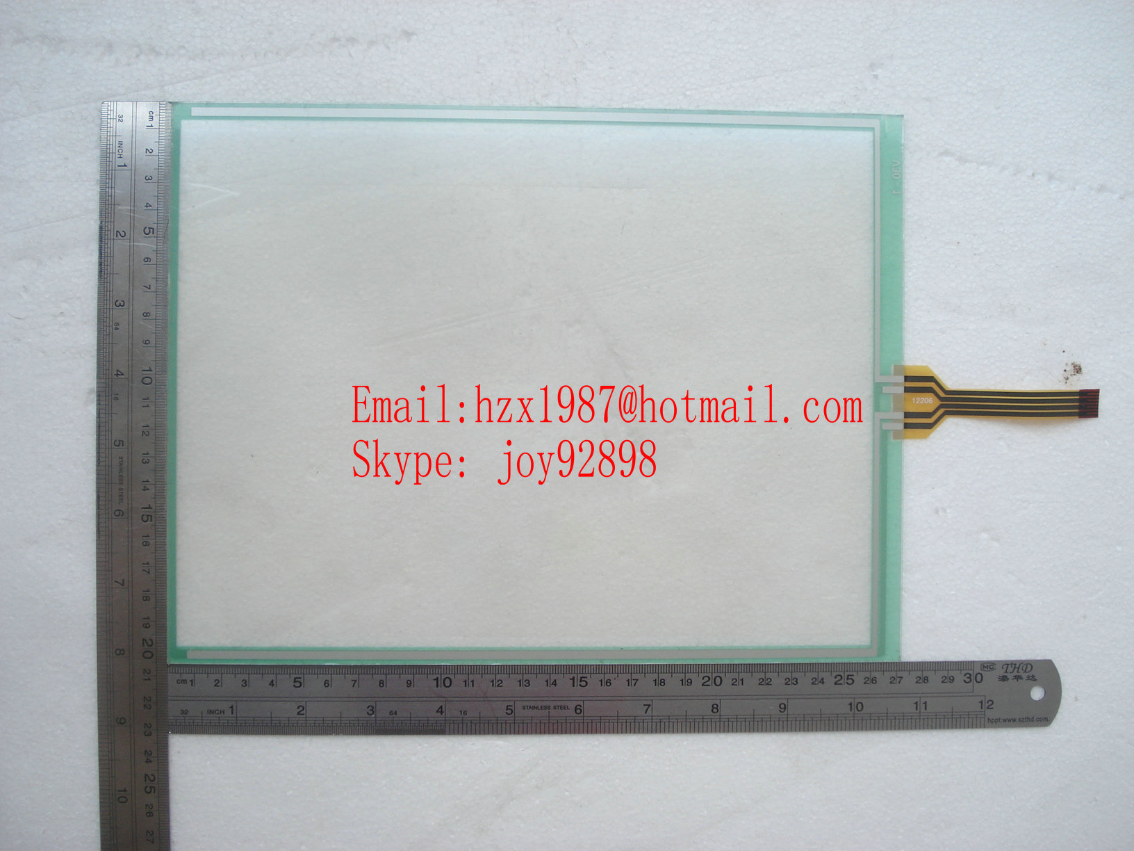 Sell Nikkai FT-AS00-12.1A 12.1''inch touch panel  TOUCH SCREEN