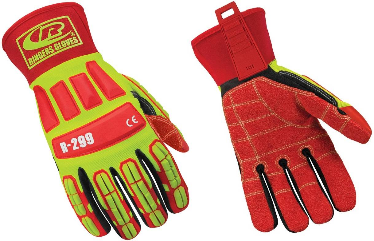 Oil and Gas Industrail Gloves-4232/En388 Ringers Roughneck Gloves 299