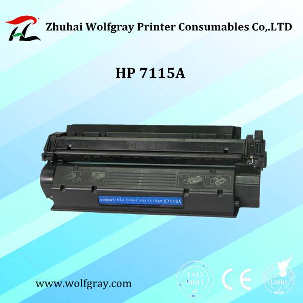 Wholesale compatible toner cartridge HP 7115A for HP 1000/1220/3330/1005