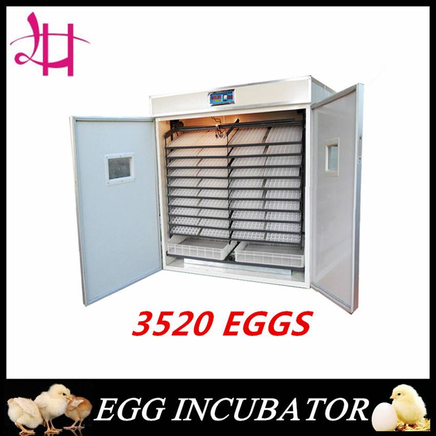 Full Automatic High Hatching Rate Egg 3520 eggs cheap price CE Marked
