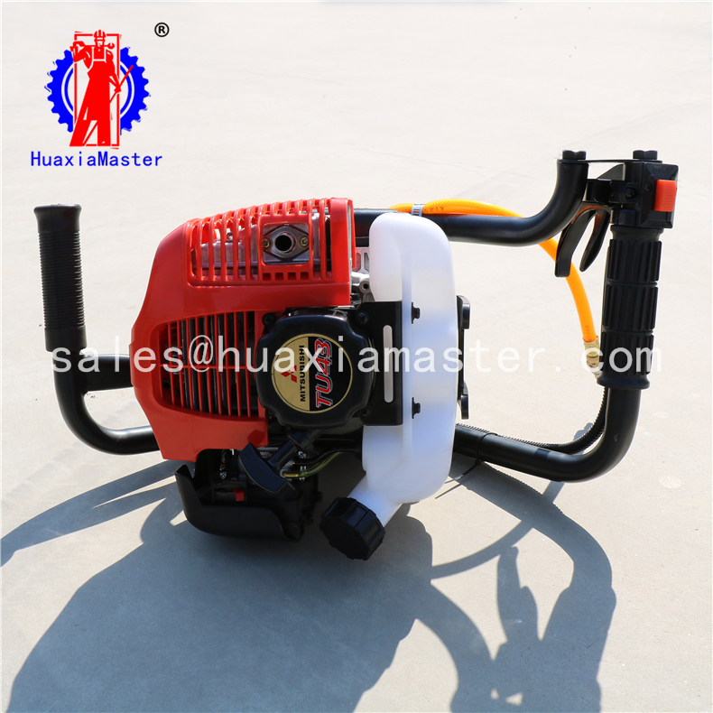 lightweight backpack core drilling rig/portable rock core sample drill machine/superficial-layer