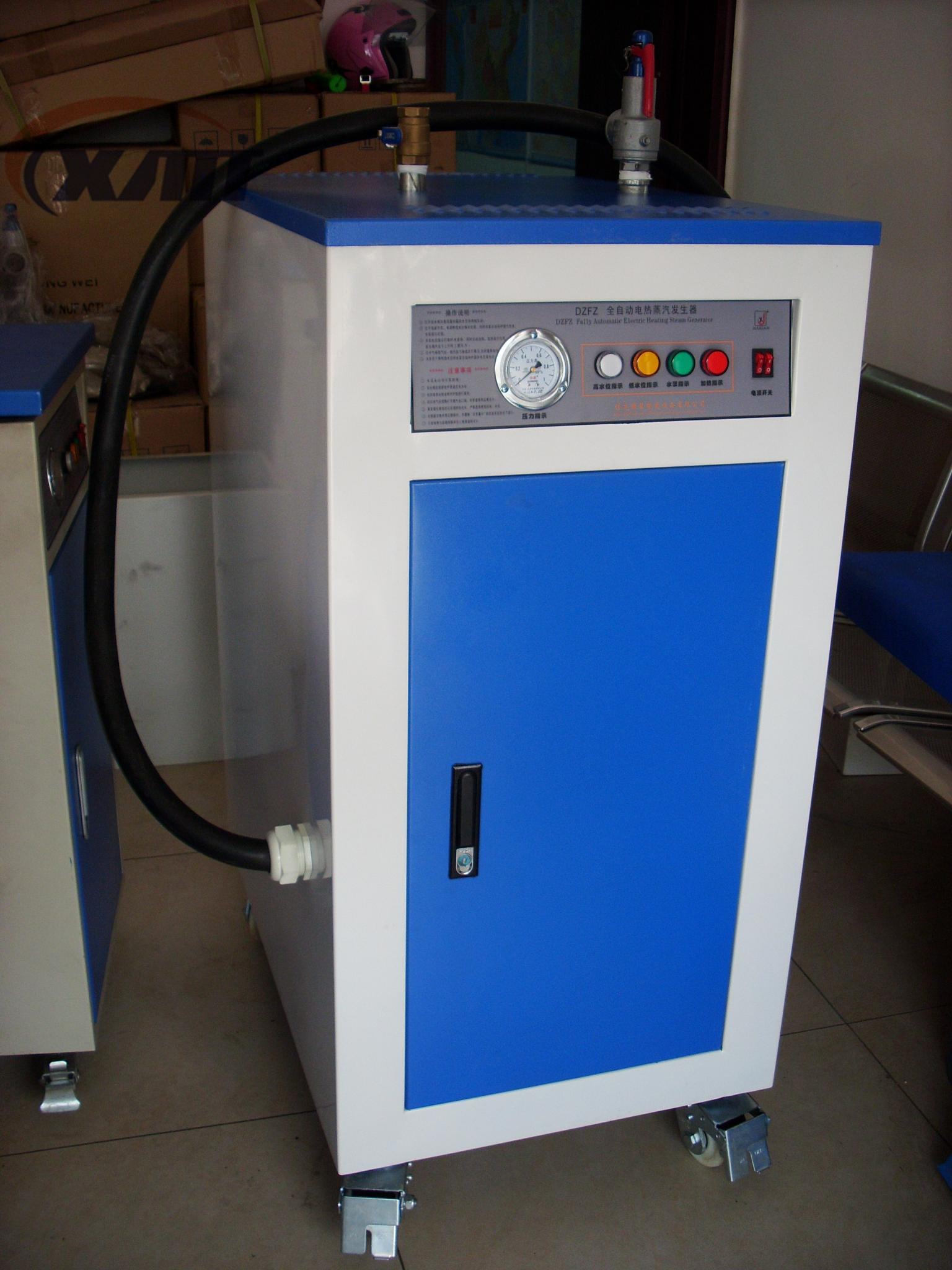 Automatic steam generator/steam boiler