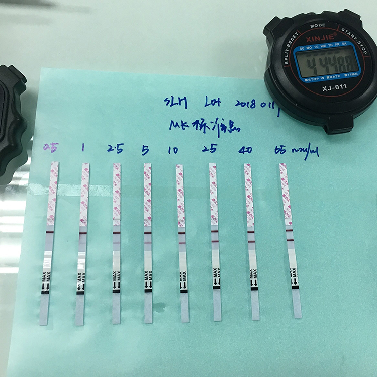 Runbio Fertility Test LH Semi Quantitative Ovulation Test Strip Cassette Midstream