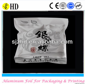 aluminium foils roll/bag/paper for tea packing