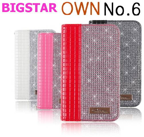 [ BIGSTAR OWN NO.6 GEMMA ] CELL PHONE CASE CUBIC BLING BLING MOBILE PHONE CASE