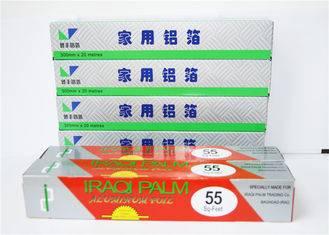 Width 400mm - 1600mm Aluminium Foil Roll 8011 , Food Packaging Heavy Duty Aluminum Foil