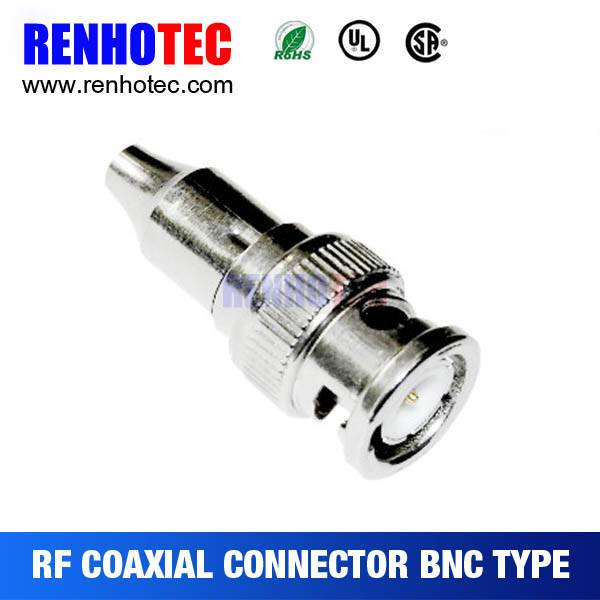 Factory Price bnc Female Coaxial Cable connector RG58 RG59 RG60