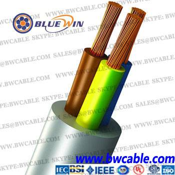 B.S.2004 Flexible Cable 250/440V(14/0.0076''~162/0.0076'')