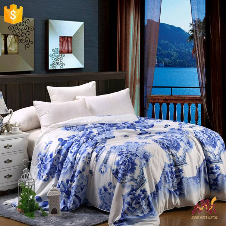 2016 New Design 100% Silk Quilt For Home with Factory Price
