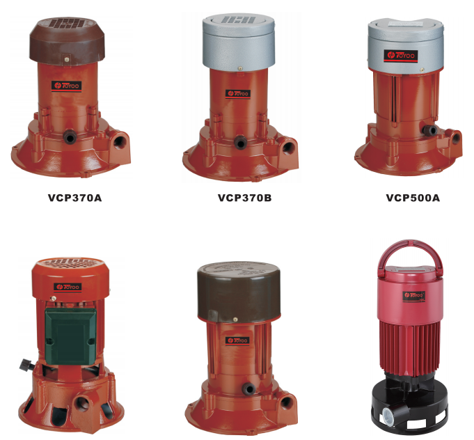 VCP vertical centrifugal pumps
