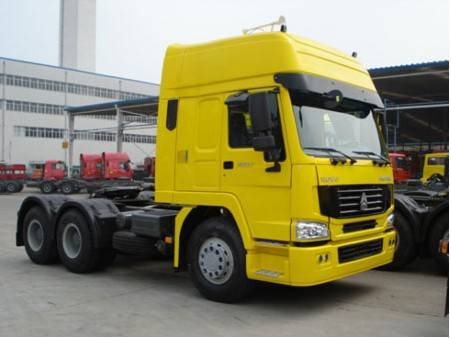 sino truck howo A7 Euro 2 tractor truck 6*4 for sale