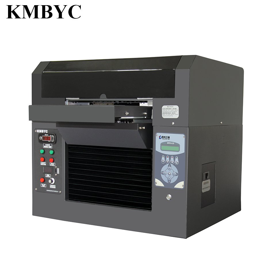 A3 size digital inkjet uv led printer