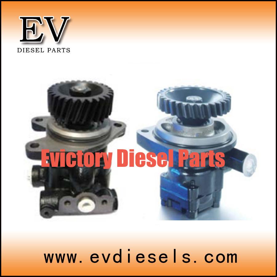 Isuzu chassis steering parts 6SA1 6HK16HH1 6HE1T 6BF1 6BD1 6BB1 DA640 DA120 power steering pump