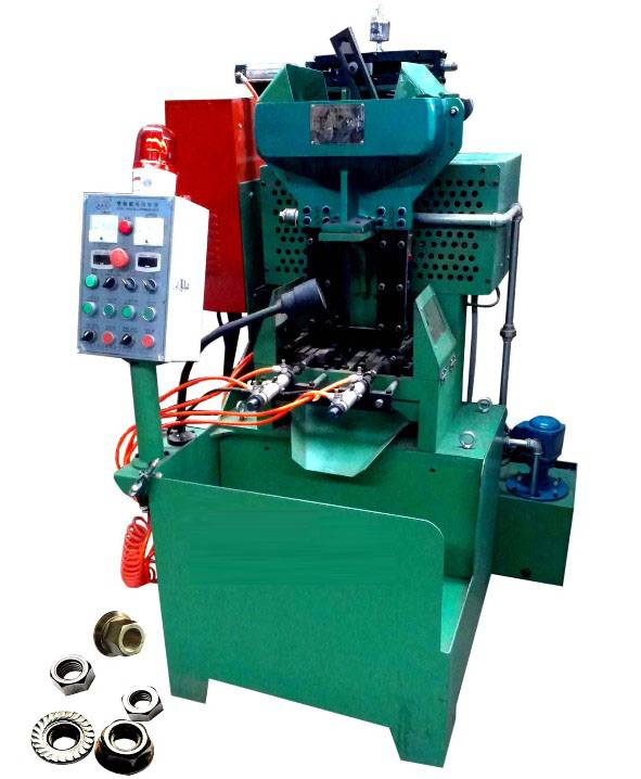 The pneumatic 2 spindle flange & hex nut tapping machine made in China