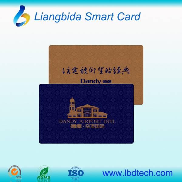 High Quality blank pvc card