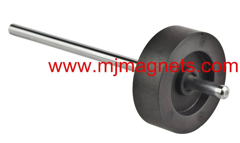 plastic injection molded magnetic rotor