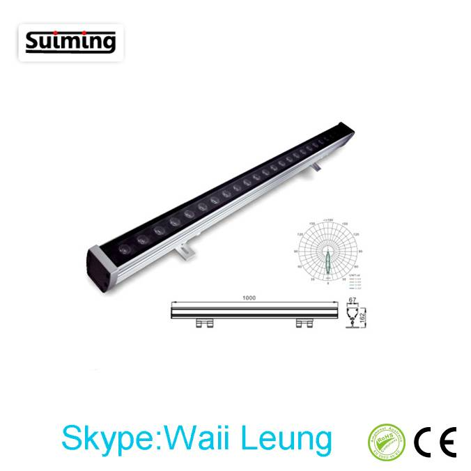 2014 Newest High Quality LED Wall Washer Light 24W
