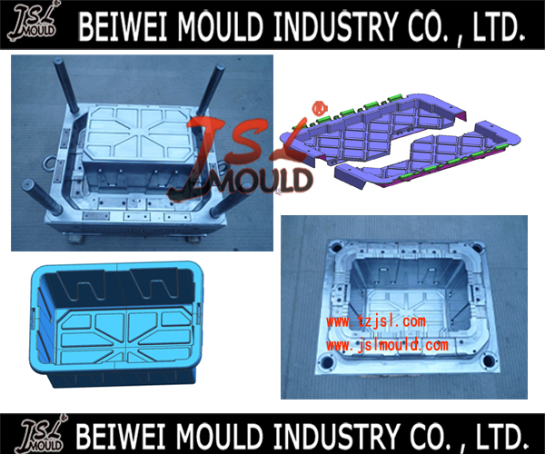 Premium Customized Plastic Collapsible Box Mould