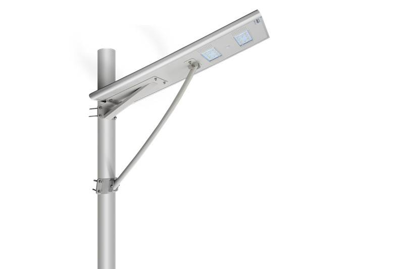 50W Integrated Solar LED street light All In One design