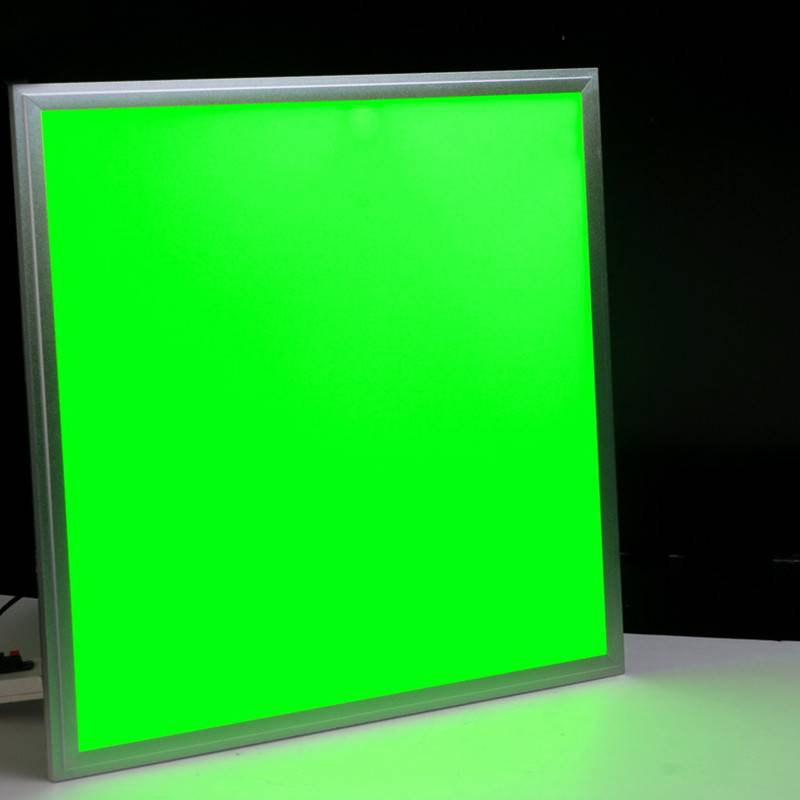 RGB panel light,600*600 36W led panel light,mht dimmable ultra-thin panel light flat
