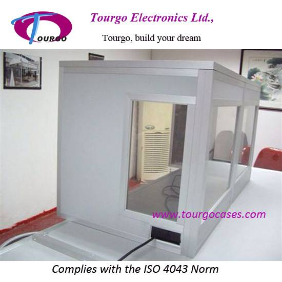 Tabletop Interpreter Booth, Tabletop Booth--Tourgo