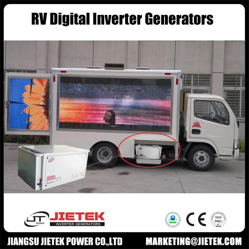 Super silent RV inverter gasoline generator set for Motor home use