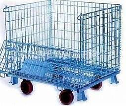 WITH WHEEL metal stock  storage CAGE warehouse box  (FOR MARKET OR WAREHOUSE) manufacturer direct sa