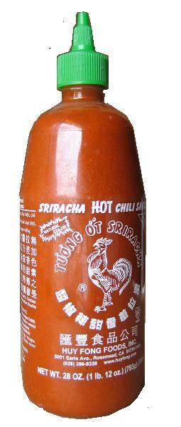 SHIRIRACHA CHILY SAUCE