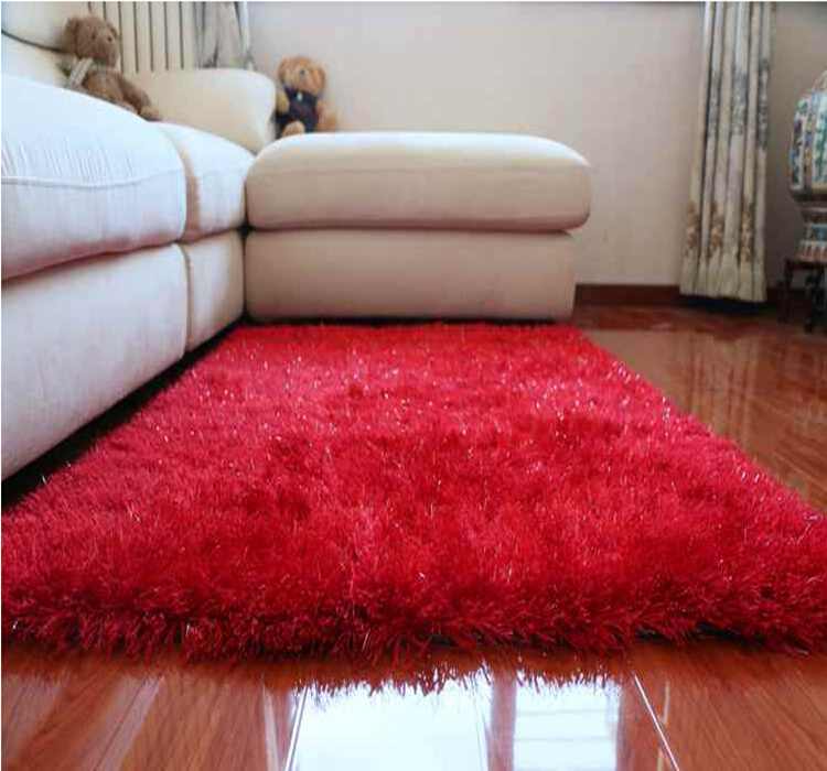 China supplier factory price home decor shaggy carpet
