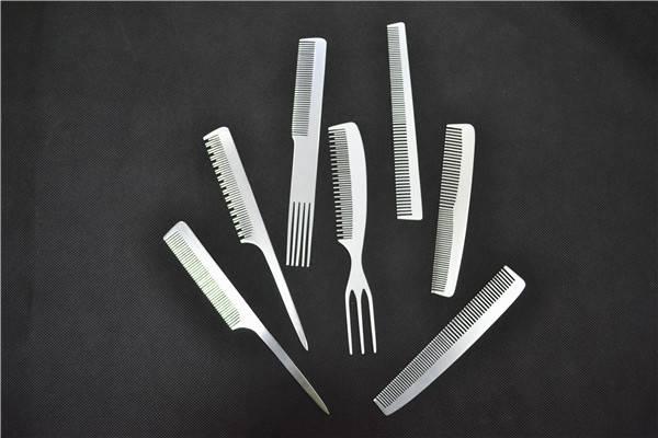 Professional Private Label Hair Brush Aluminum Comb