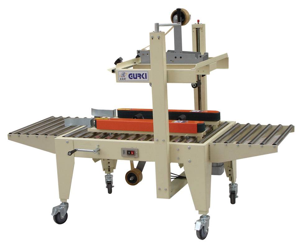 GPA-50 Side belts driven carton sealer
